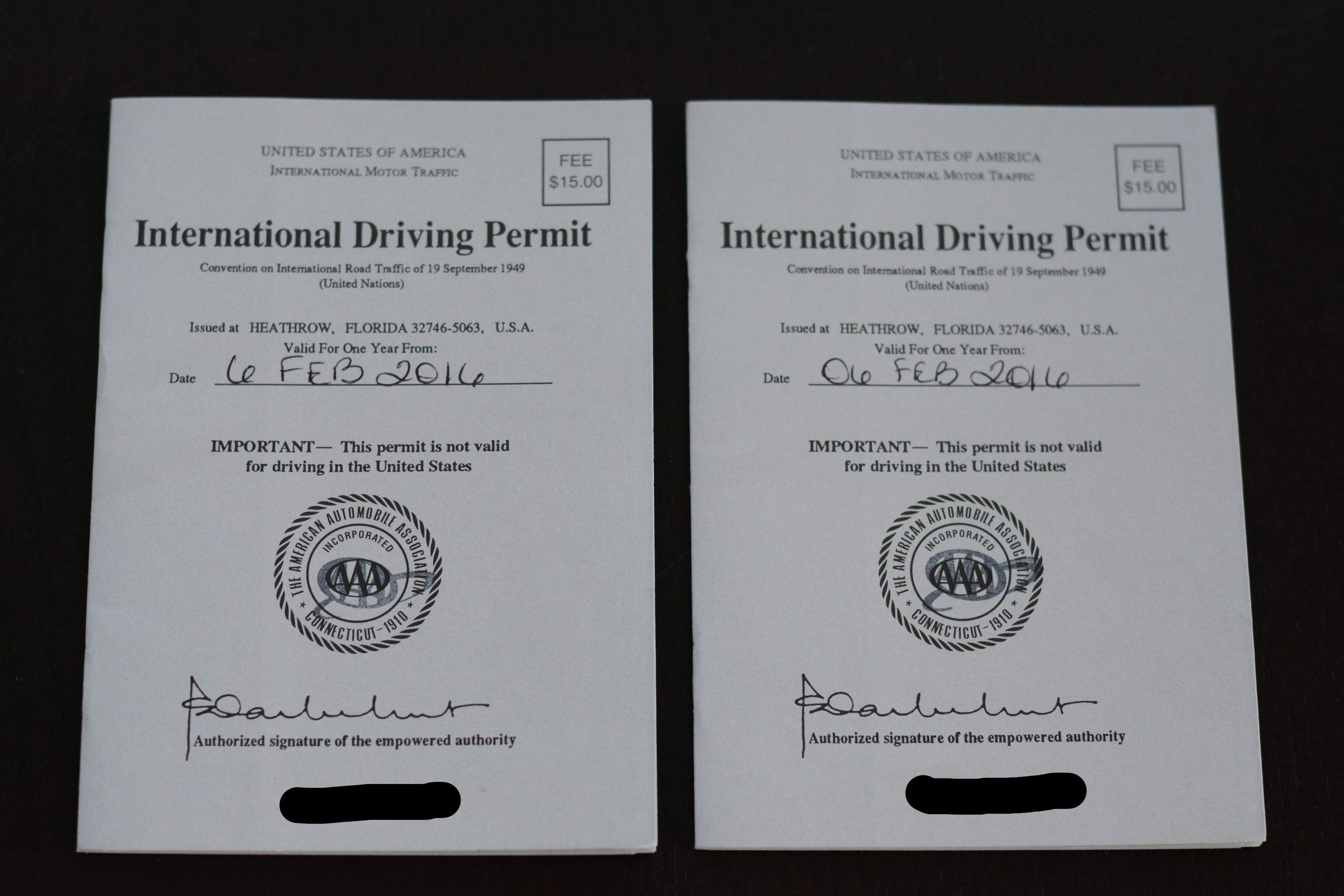 international drivers license required in greece