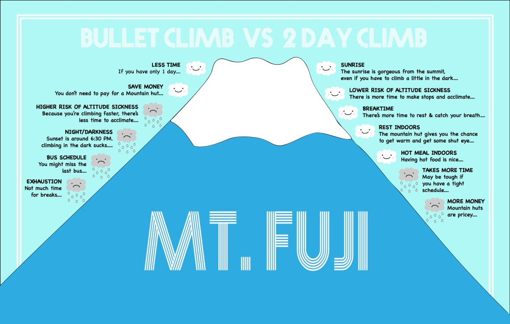 Mt Fuji Pros and Cons